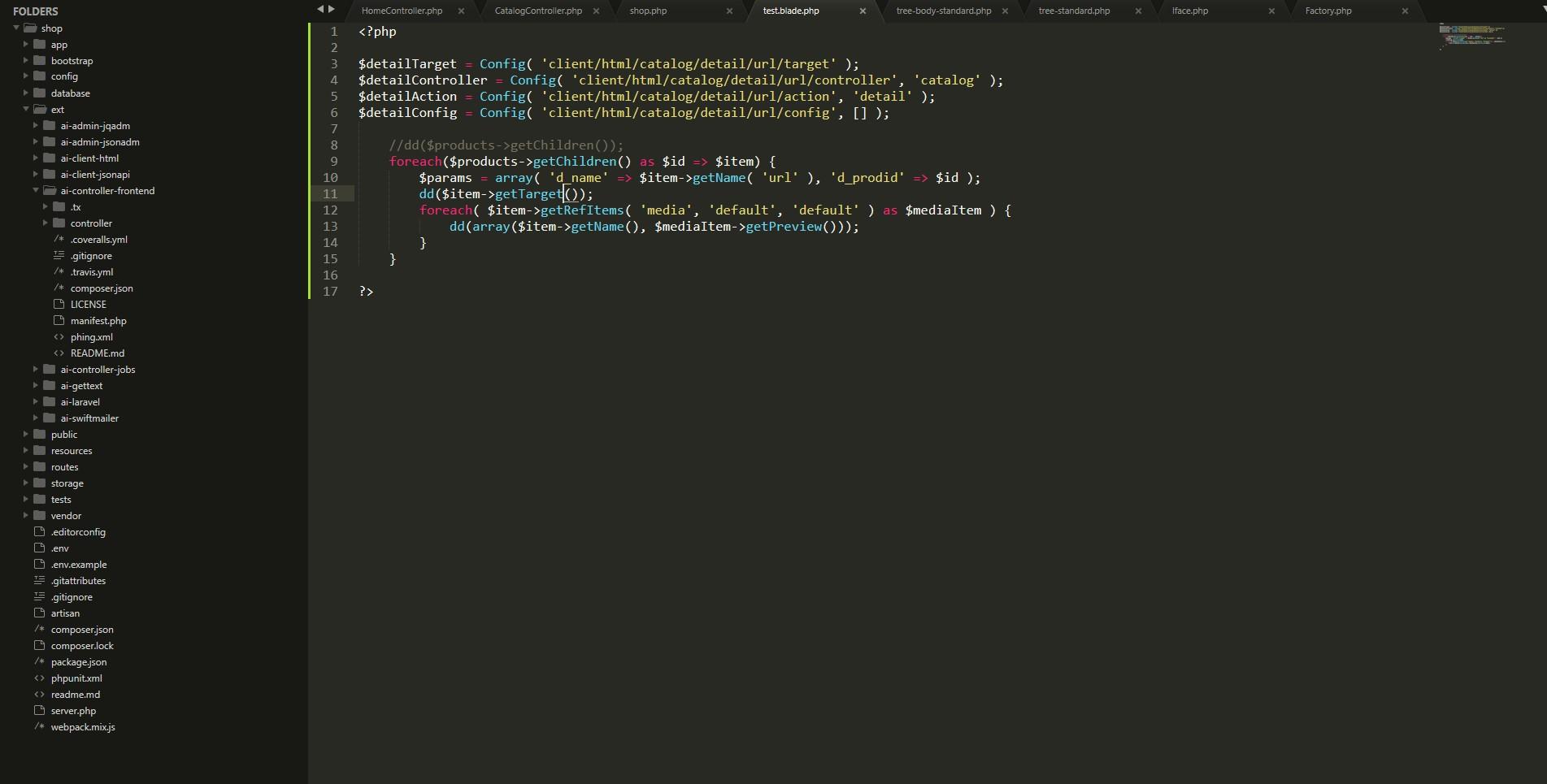 Custom Module - Help for Aimeos