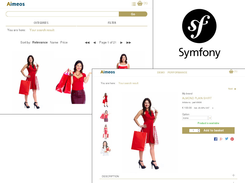 Symfony web shop bundle